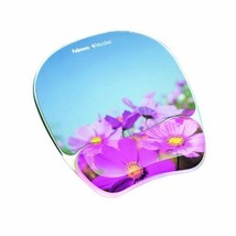 Fellowes Photo Gel Mouse Pad Wrist Rest Microban Protection Home Office ... - $16.79
