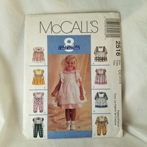McCall's Dress 8 Looks Easy Sewing Pattern Dress Jumpsuit Pinafore - $6.78