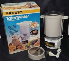 Presto Tater Twister Electric Curly Fry Fries Potato Cutter Slicer FREE ... - €52,32 EUR