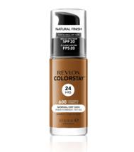 Revlon ColorStay Liquid Makeup For Normal Dry Skin #600 Cinnamon - $9.30