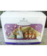 Hallmark 1999 Beatrix Potter The Tale Of Peter Rabbit Set of 3 Ornaments - $19.50