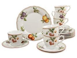 Creatable, 17030, Serie Flora Orchard, Geschirrset Kaffeeservice 18 teilig - €96,94 EUR