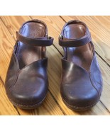Patagonia 7 38 Better Clog Curve Cattail Brown Oiled Leather - $30.40