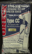 New Sealed Oreck Hypo-Allergenic Type Cc Vacuum Cleaner Bags CCPK8DW Pack Of 8 - $17.88