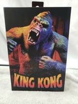 Neca King Kong Illustrated Color Version Figure Walmart Exclusive - $32.45