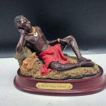 AFRICAN LEGACY COLLECTION SCULPTURE figurine statue tribal Avery creatio... - $47.52