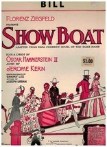 Sheet Music ~ Bill ~ Show Boat ~ Hammerstein II & Kern ~ 1927 - $9.46