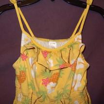Dress Pineapple Hawaiian Palm Tree Youth Girls Size 9 Gymboree Sundress ... - $6.99