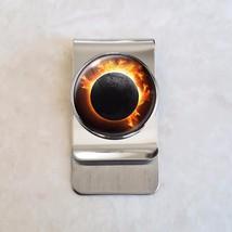 Solar Eclipse Stainless Steel Money Clip - $20.00