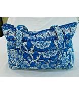 Vera Bradley Blue Lagoon Betsey Medium Handbag - $34.42