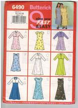 Butterick Uncut Sewing Pattern #6490 Girls' Jac... - $7.50