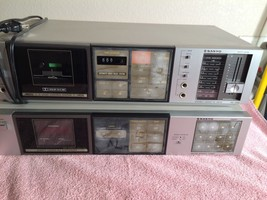 VINTAGE-Sanyo--RD1400-amp-JT1400-Home-Audio-Stereo-System-TUNER-CASSETTE... - $26.99