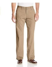 Lee Men's Weekend Chino Straight Fit Flat Front Pant  40X32 - $20.89