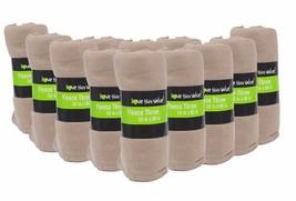 12 Pack Wholesale Soft Warm Fleece Blanket or Throw Blanket - 50 x 60 In... - $58.04