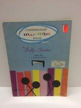 Contemporary Marimba Solos by Bobby Christian 4 Mallet Percussion Sheet ... - $14.80