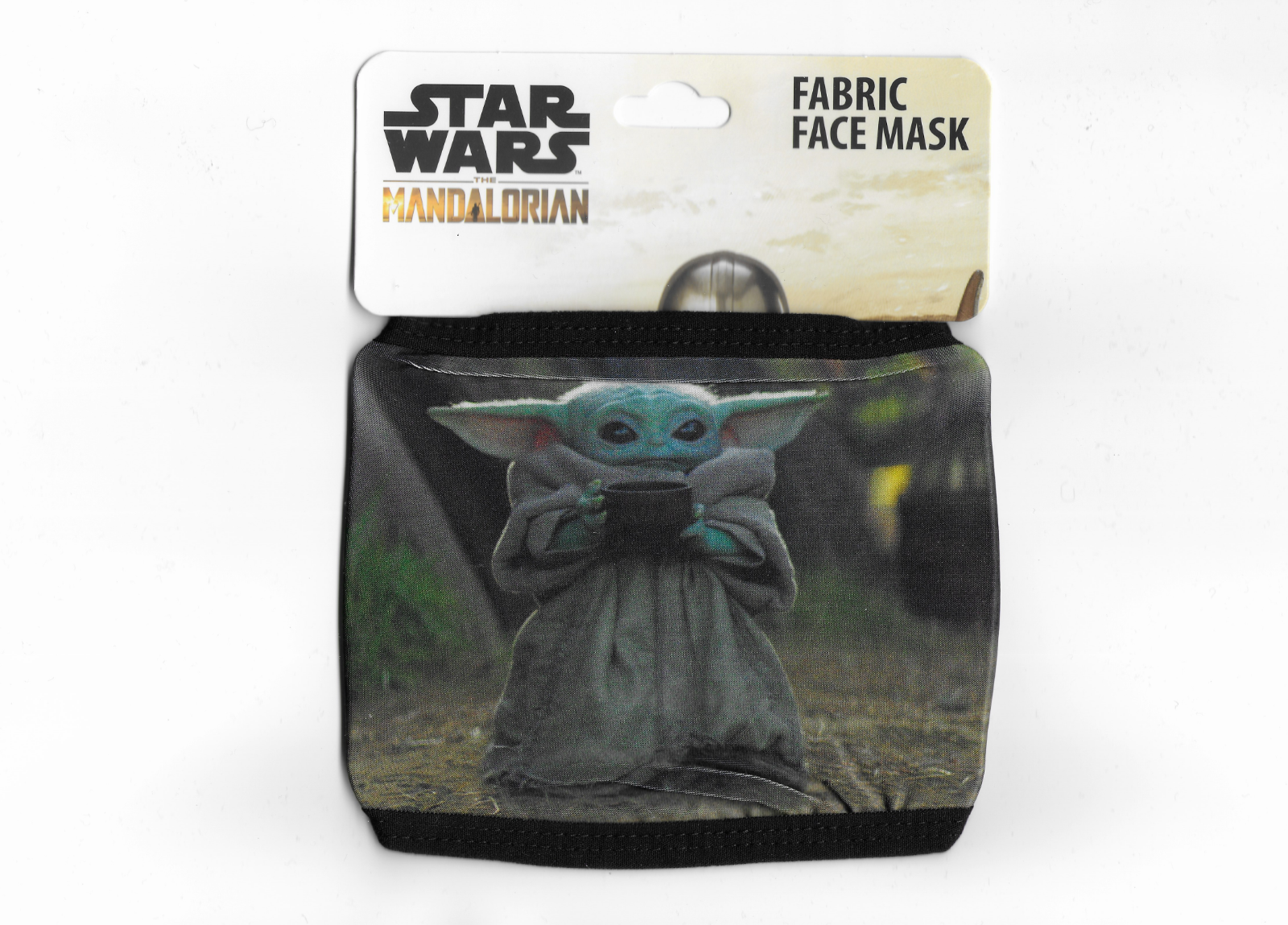 Star Wars: The Mandalorian Baby Yoda The Child Grogu Adult Fabric Face Mask
