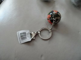 Vera Bradley have a ball keychain Poppy Fields - $12.00