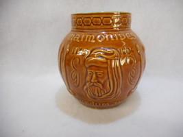 Vintage Schering Maimonides Secundum Artem 1135-1204 Mortar RX Brown Jar... - $16.79