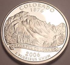Gem Cameo Proof 2006-S Colorado State Quarter~See All Our State Quarters~Free Sh - $4.76