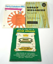 Books Lot of 3 Vintage Organ Sheet Music Solos Melodies Favorites Fab Fo... - $22.21