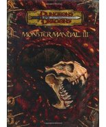Monster Manual III (Dungeons & Dragons d20 3.5 Fantasy Roleplaying Suppl... - $143.52
