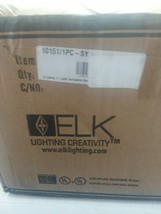 ELK Lighting Celina 1-Light Swingarm Wall, Chrome/Sandy Swirled - 10151-... - $144.83