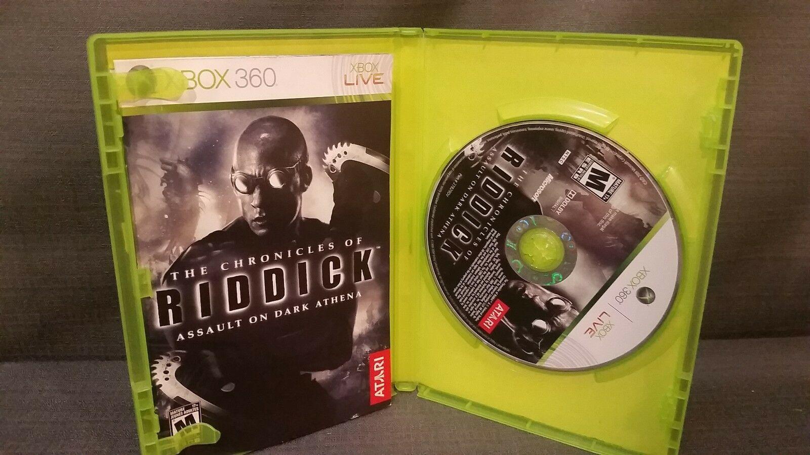 Chronicles of Riddick: Assault on Dark Athena (Microsoft Xbox 360, 2009)