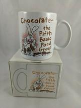 Hallmark Shoebox Greetings Coffee Mug Chocolate the Fifth Basic Food Group - $7.95