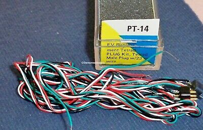 Electro-Voice, EV PT-14 Tetrad replacement kit Male Plug with 23 inch wires