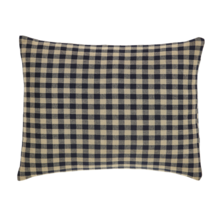 "BLACK CHECK 3-pc Pillow Set - 2 16"" Pillows and 1 14x18"" Pillow - VHC Brands"