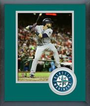 Mitch Haniger 2018 MLB All-Star Game Action- 11x14 Team Logo Matted/Framed Photo - $43.55