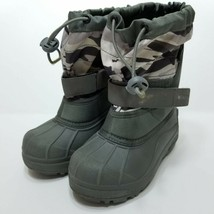 Columbia Kids Snow Boots - Waterproof - Gray - Size 12 - $29.70