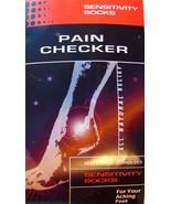 Sensitivity Socks Pain Checker Small - Large UNISEX - $14.97