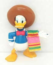 Disney Donald Duck With Sombrero & Blanket 3in Action Figure Used - $12.00