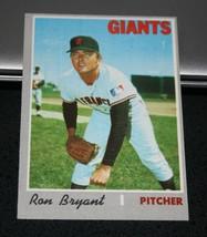 1970 Topps Baseball Card #433 Ron Bryant - $3.95