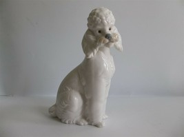 "Lladro NAO Poodle Dog Figurine Retired 6"" Daisa 1985 - $69.99"