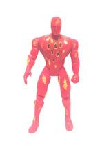 "Marvel Toybiz The Human Torch Fantastic Four 5.25"" Action Figure 1996 - $21.78"