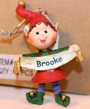 Christmas Ornaments - WHOLESALE- Russ BERRIE-#13823 'BROOKE'- 6 PCS- New -W742 - $5.83