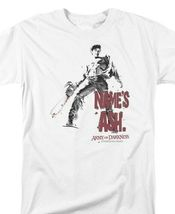 Army of Darkness Name's Ash T-shirt Evil Dead Retro Horror Movie Tee MGM104 image 3