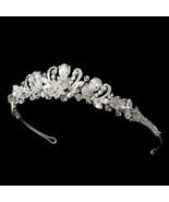 CZ Teardrop Austrian Crystal Rhinestone Princess Wedding Bridal Prom Tiara - €83,47 EUR