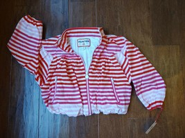 NWT Hunter for Target Girls Striped Jacket Size XS or 4-5 - $19.99