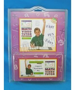 Smart Kids Elementary Math Video Tutor Vol. 2 VHS Tape and Workbook Ages... - $11.87