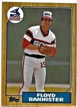 1987 Topps Baseball Card, #737, Floyd Bannister, Chicago White Sox - $0.99