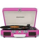 Crosley CR8005D Deluxe Cruiser Portable Bluetooth Turntable Record Playe... - £60.68 GBP