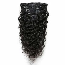 Loose Wave Clip In Human Hair Extension Full Head Brazilian Remy Hair Cl... - $92.07
