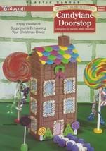 Candyland Christmas Doorstop, Plastic Canvas COMPLETE CRAFT KIT TNS 984041 - $7.95