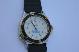 Vtg Men's Timex  Indiglo WINSTON SELECT advertisement watch Rotating bez... - $56.06
