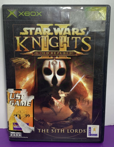 Primary image for DISC ONLY - Star Wars: Knights of the Old Republic II  Sith Lords Original Xbox