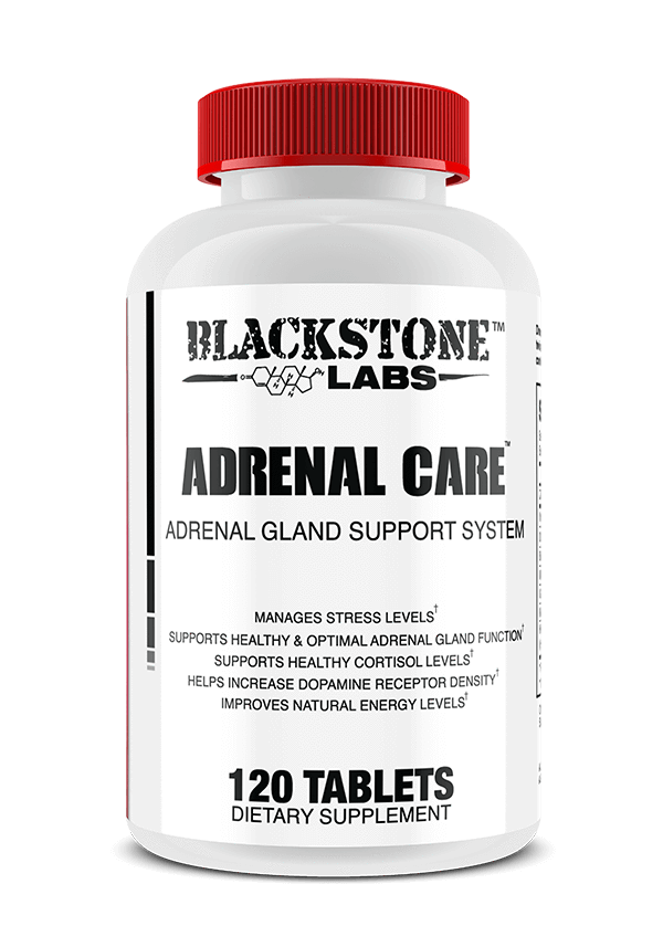 Primary image for Blackstone Labs Adrenal Care 120ct Adrenal Support Manage Stress Cortisol Gland