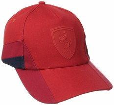Puma Ferrari Lifestyle Men's F1 Team Trucker Baseball Hat Cap Red PMMO2029